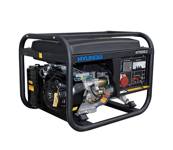 Máy Phát điện 6.0KW -6.6KW Xăng Hyundai –  Máy Trần, đề Nổ