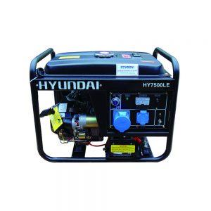 Máy Phát điện 5KVA – 5.5KVA Xăng Hyundai HY7000LE 1 Pha, đề Nổ