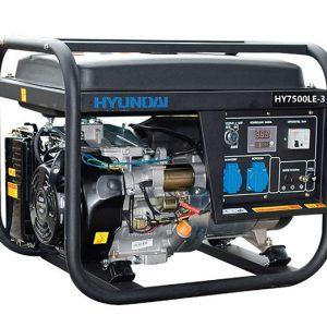 Máy Phát điện 6.3KVA – 6.9KVA Xăng Hyundai HY7500LE 3 Pha, đề Nổ