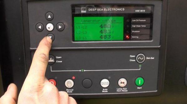 hướng dẫn sử dụng bảng điều khiển máy phát điện