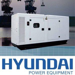 Máy Phát điện 400kva Chạy Dầu  DHY412KSE Hyundai, 3 Pha