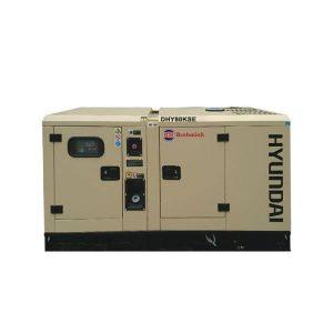 Máy Phát điện 70KVA – 77KVA Diesel Hyundai – 3 Pha Với Vỏ Chống ồn đồng Bộ
