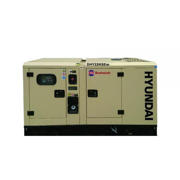 máy phát điện 20kw chạy dầu Hyundai