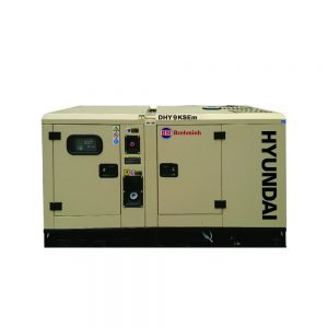 Máy Phát điện 8KW – 8.8KW Diesel Hyundai – 1 Pha Có Vỏ Chống ồn đồng Bộ