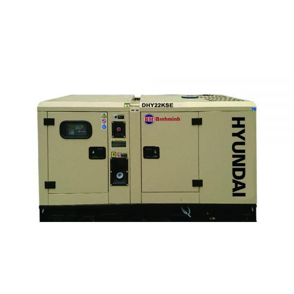 máy phát điện 20kva chạy dầu hyundai