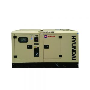 Máy Phát điện 300KVA – 325KVA Diesel Hyundai – 3 Pha Với Vỏ Chống ồn đồng Bộ