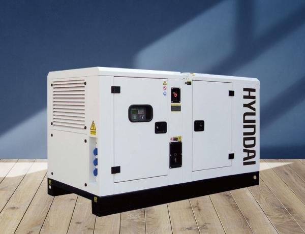 máy phát điện công nghiệp Hyundai công suất lớn Hyundai DHY280KSE