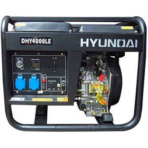 Máy Phát điện Diesel 3.0KW – 3.3KW Hyundai – Máy Trần, đề Nổ