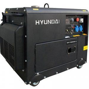 Máy Phát điện Diesel 6kva Hyundai – Vỏ Chống ồn, đề Nổ
