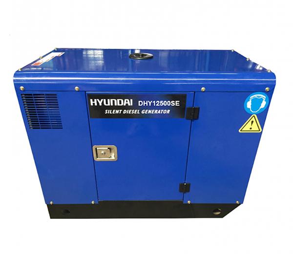 Máy Phát điện 10KW -11KW Diesel Hyundai-Vỏ Chống ồn, đề Nổ