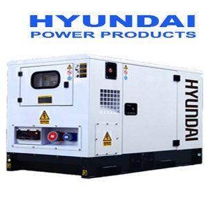 Máy Phát điện 130KVA – 145KVA Diesel Hyundai -3 Pha Với Vỏ Chống ồn đồng Bộ
