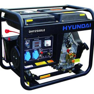 Máy Phát điện Diesel 2.0KW – 2.2KW Hyundai – Máy Trần, đề Nổ