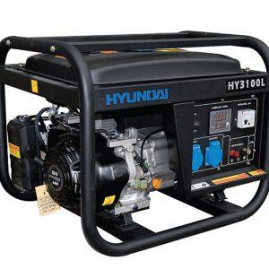 Máy Phát điện 3KW Chạy Xăng Hyundai HY3100LE  – Máy Trần, đề Nổ