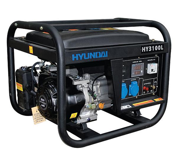 Máy Phát điện 3KW Chạy Xăng Hyundai – Máy Trần, đề Nổ
