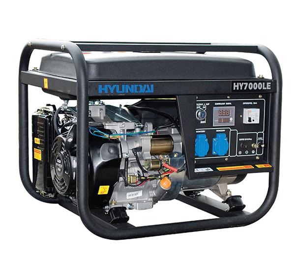 Máy Phát điện Xăng 5.0KW – 5.5KW Hyundai – Máy Trần, đề Nổ
