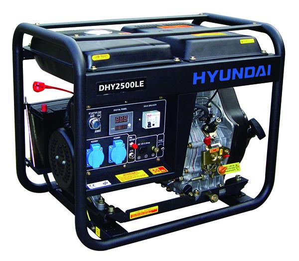 May Phat Dien Diesel Hyundai Dhy2500le