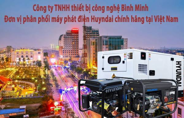 Máy phát điện Thái Bình