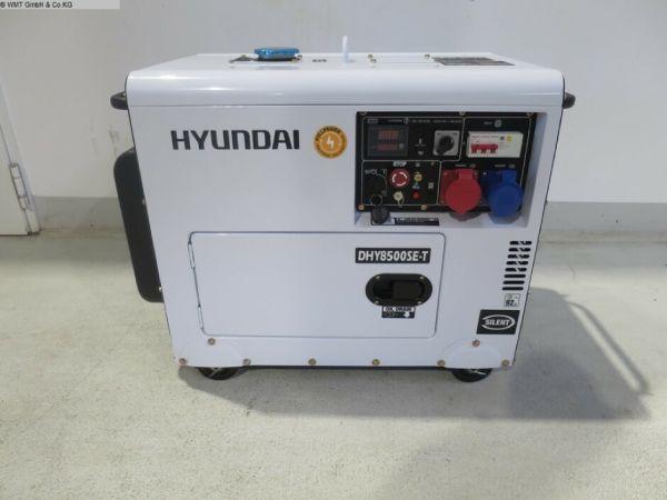 Máy phát điện 6kw chạy dầu diesel Hyundai DHY8500SE-T