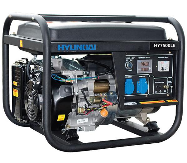 Máy phát điện 5Kw chạy xăng Huyndai HY7000LE