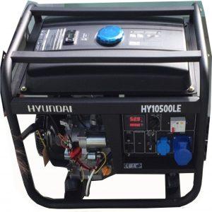 Máy Phát điện 9KVA – 10KVA Xăng Hyundai HY10500LE- 3 Pha đề Nổ