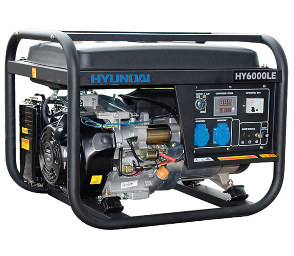 máy phát điện gia đình Hyundai chạy dầu