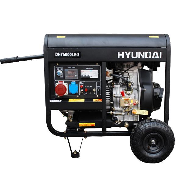 Máy phát điện chạy dầu 6.3kva dhy6000le-3
