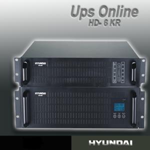 UPS RackMount 6KVA Online Hyundai HD-6KR