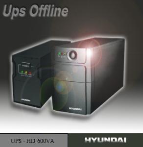 Bộ Lưu điện Ups 600VA Hyundai Offline HD – 600VA