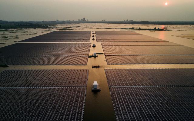 Diện tích để sử dụng pin mặt trời