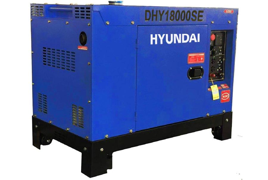 máy phát điện 10kva-11kva-hyundai-dhy18000SE 1 pha