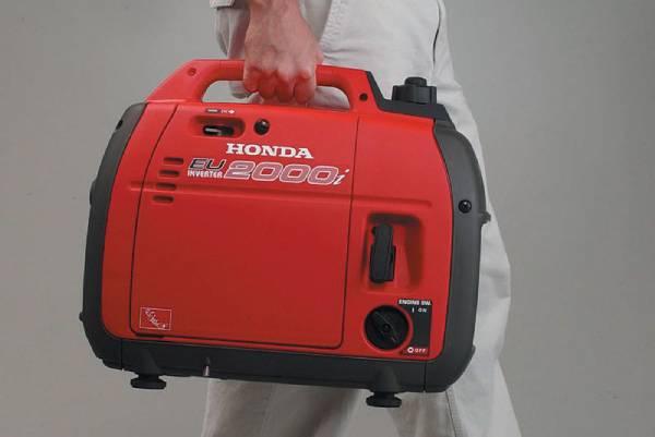 Honda tập trung vào dòng máy phát cầm tay - dòng công suất siêu nhỏ, hạn chế thời gian sử dụng
